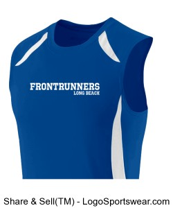 Sleeveless Running Singlet Design Zoom