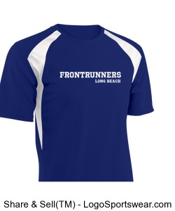 Short Sleeve Running Shirt Design Zoom